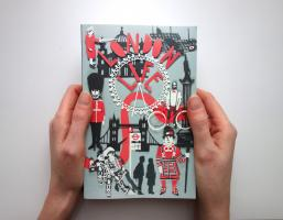 Mel Rye Illustration London Life Book Cover Paper Cuts